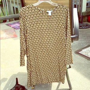 H&M size 10 shift dress.
